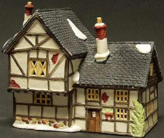 Tudor Cottage New Department Dept 56 Dickens Village DV