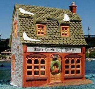 White Horse Bakery New Department Dept 56 Dickens Village DV