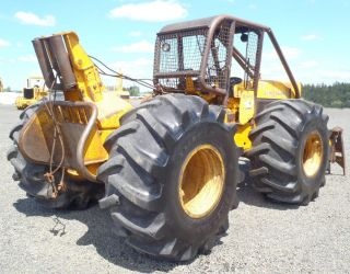 1973 John Deere 540A Log Skidder with Winch Logging Tractor All New Tires