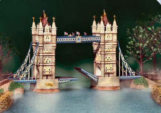 Tower Bridge of London 20th Anniv Special Le New Department Dept 56 Dickens