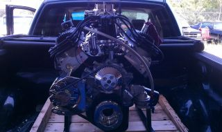 Ford 351W Roller Stroker Engine Kit 427 CU in 540HP Heads