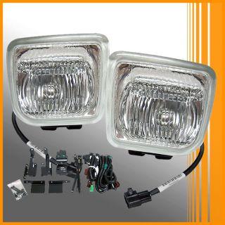 96 97 98 Honda Civic EK Clear Lens Fog Lights Lamps Kit