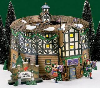 Old Globe Theatre New Department Dept 56 Dickens Village D56 DV