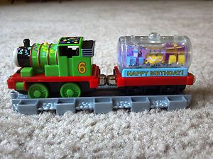 Happy Birthday Percy Car Take Along N Play Diecast Metal Vehicles Thomas Train