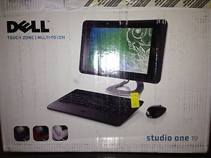 Dell studio one all in one touch screen desktop computer 2 40 ghz dell studio one 1909 all in one touch screen pc w windows sciox Gallery