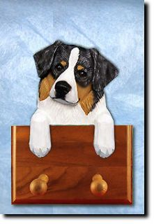 Australian Shepherd Dog Topper Leash Holder in Home Wall Decor Products Gifts