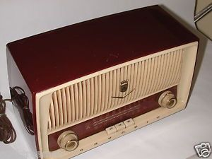 "Vintage Grundig Majestic Model 87 Am FM Tube Radio Made in West Germany ""Nice"""