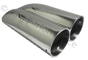 Polished Aluminum Shotgun Double Barrel Intake Hood Scoop Smooth Dual Carb Setup