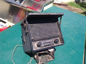 Audiovox Tractor Radio Weather Enclosure Am FM Stereo Cassette