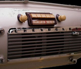1947 53 Chevy GMC Truck Am FM Stereo Reproduction Radio