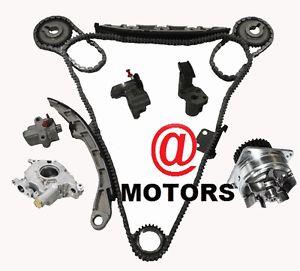 Timing Chain Kit Water Pump Oil Pump Nissan Infiniti 3 5 V6 VQ35DE Murano Maxima