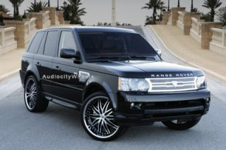 """26"""" Wheels and Tires for Land Range Rover Lexani Rims"""