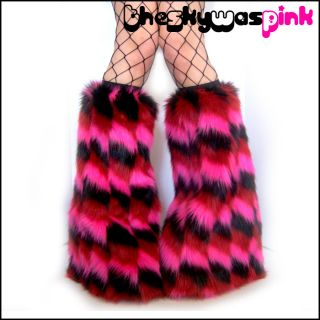 Monster Fluffies Rave Clothes Cyber Cosplay Anime UV