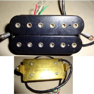 DiMarzio DP101 Dual Sound Electric Guitar Humbucker Pickup F Spaced