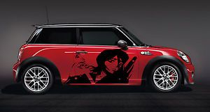 Custom Wrap Car Vinyl Graphics Anime Samurai 063