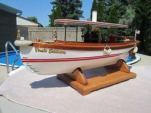 "... Edition"" Live Steam Engine R C RC Model Boat with Spektrum 2 4 Radio"