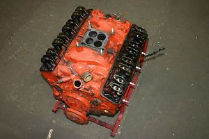 Chevy 283 V8 Small Block Engine Motor Cast 3849852 Date I 10 4