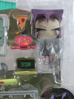 Invader Zim GAZ Includes Zim House Part 3 Palisades Toys Nick