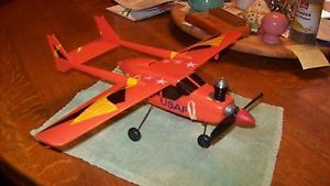 Cox Cessna Skymaster Control Line Model Airplane with Cox 049 Engine