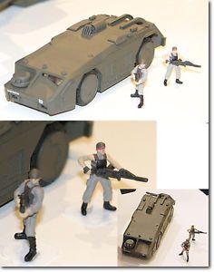 Aoshima Aliens 1 72 APC Armored Personnel Carrier Standard Version Dropship