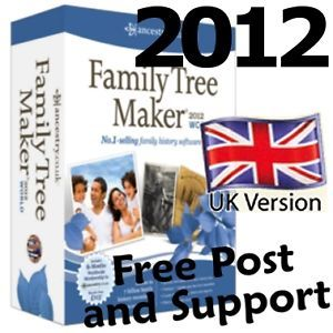 Family Tree Maker 2012 World Edition 6 Months Free World Ancestry Subscription
