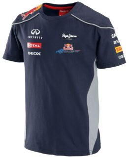 Authentic Infiniti Red Bull Racing F1 Team 2013 Toddler and Junior Team T Shirt
