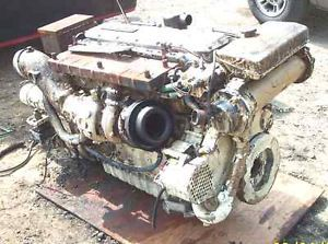 2 Caterpillar 3116DITA Dita Cat Marine Turbo Diesel Engines Trans 350HP 3116