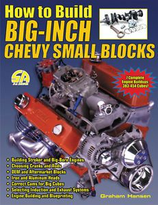 How to Build Big inch Chevy Small Blocks or Build A SBC Stroker Engine 383 Up