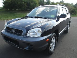 2004 Hyundai Sante FE GL Drives Excellent Clean Gas Saver No Reserve