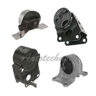 02 04 Nissan Altima 3 5 Transmission Engine Motor Mounts 7349 7347 7358 7348