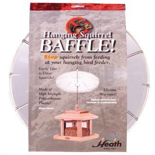 Heath Squirrel Baffle for Hanging Feeders
