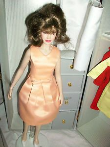 Franklin Mint Jackie Kennedy Doll Case Accessories Shoes Jewelry Clothing
