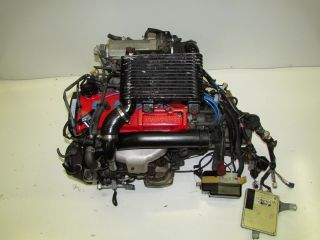 JDM Toyota Starlet 4E FTE Turbo Engine Tercel Paseo 4EFTE Motor Trans ECU Sensor