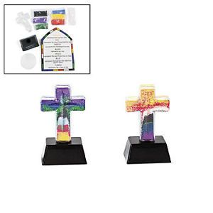 """""""Colors of Faith"""" Sand Art Lot of 12 Bottles Arts and Crafts 485718"""