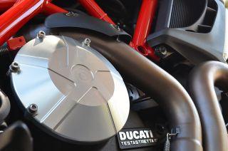 Ducati Diavel Cromo Carbon AMG Dark Billet Aluminum Engine Clutch Case Cover