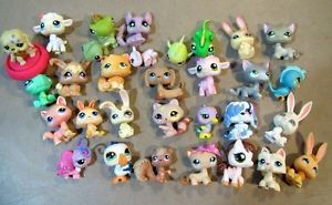 31 Littlest Pet Shop LPS Dogs Cats Bunnies Birds Fish Pig Butterfly Pony More