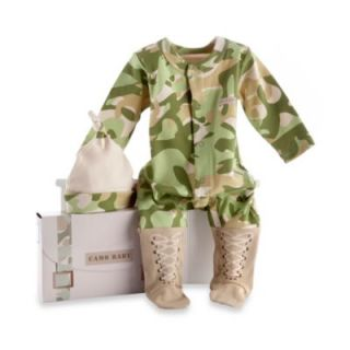 CamouFlage Size 0 to 6 Months 2 Piece Baby Layette Set