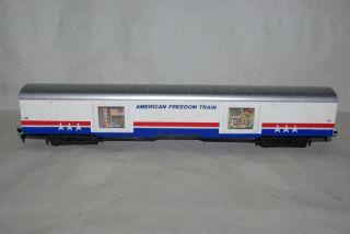 HO Scale Lionel American Freedom Train Display Exhibit Passenger Car Train