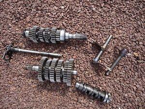 GSXR600 GSXR 600 Transmission Trans Gears Engine Motor