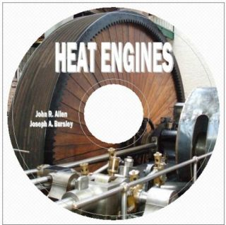 Heat Engines Steam Gas Steam Turbines and Their Auxiliaries on CD