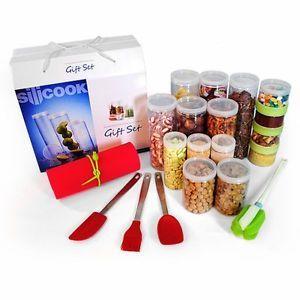 Hyundai Hmall Silicook Food Containers Block Refrigerator Storage Special Set