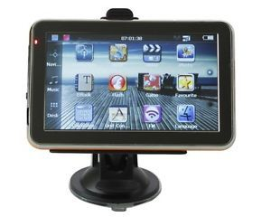 """5"""" inch Auto Car GPS Navigation TFT Touch Screen"""