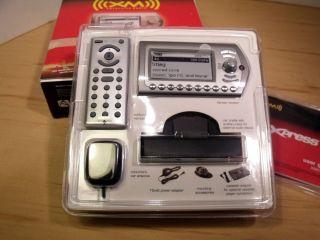 XM Xpress Plug Play Satellite Radio Car Kit Audiovox XMCK 10A New