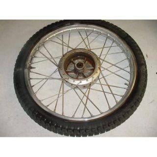 75 Suzuki TS250 TS 250 Front Wheel Rim Tire