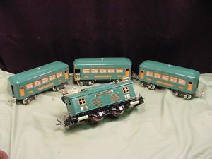 Pre War Lionel O Set Engine 253 Observation 608 2 Pullman 607 TCA WOW 165