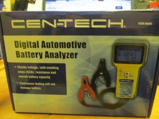 Cen Tech Digital Automotive Battery Analyzer