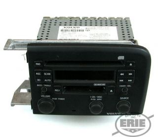 Volvo Hu 611 CD Player Radio Black Faceplate Fits S80 2004