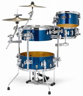 Tama Drums Set Imperialstar Cocktail Jam Drum Set with Bags Indigo Sparkle New