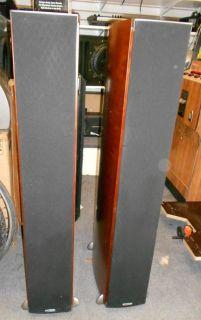Polk Audio Speaker RTI A9 Tower Speakers Used Pair Excellent Sound