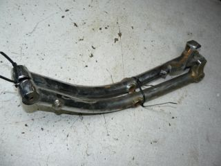 1986 Suzuki Intruder 700 Frame Engine Bars vs 750 800